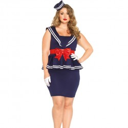LEG AVENUE AYE AYE SAILOR AMY TAILLE PLUS 1X / 2X