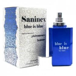 PARFUM AUX PHEROMONES HOMME SANINEX BLUE IS BLUE