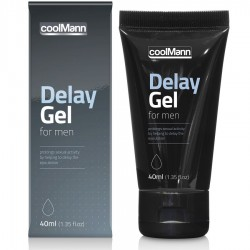 COOLMANN DELAY GEL 40ML