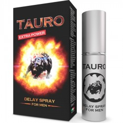 TAURO EXTRA POWER DELAY SPRAY POUR HOMMES 5 ML