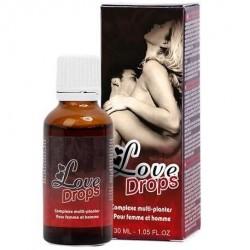 LOVE DROPS GOUTTES D'AMOUR STIMULANTES 30ML
