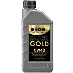 EROS BLACK GOLD 0W40 LUBRIFIANT À BASE D'EAU 1000ML