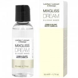 MIXGLISS DREAM LUBRIFIANT SILICONE CAMELIA BLANC 50 ML