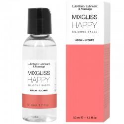 MIXGLISS HAPPY LUBRIFIANT SILICONE LITCHI 50 ML