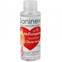 SANINEX MULTIORGASMIQUE FEMME GLICEX LOVE 4 EN 1 100 ML