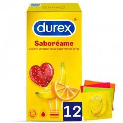 UNITÉS DUREX SABOREME 12