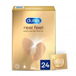 DUREX REAL FEEL 24 UNITÉS