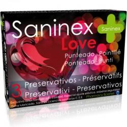 SANINEX LOVE PRESERVATIFS 3 UNITÉS