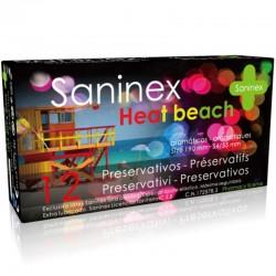 SANINEX CONDOMS HEAT BEACH CONDOMS 12 UNITÉS