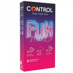 CONTROL FEEL FUN MIX 6 UDS