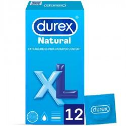 DUREX NATURAL XL 12 UNITÉS