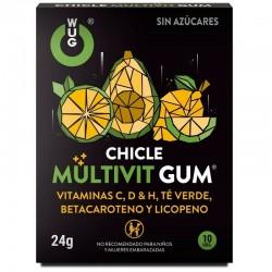 WUG GUM MULTIVIT GUM 10 UNITÉS