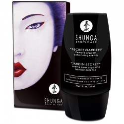 SHUNGA CREAM INTENSE FEMALE ORGASM SECRET GARDEN.