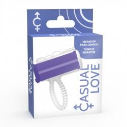 CASUAL RING VIBRATOR LILAC TONGUE