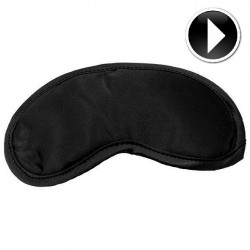 SEX MICHIEF SATIN BLINDFOLD NOIR,