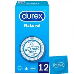 DUREX NATURAL PLUS 12 UNITÉS