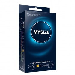 MY SIZE NATURAL CONDOM LATEX 53MM 10UDS