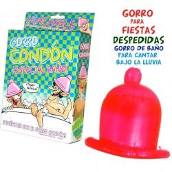 CHAPEAU DE DOUCHE CONDOM