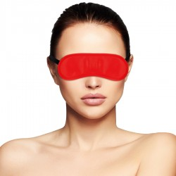 MASQUE OCULAIRE DARKNESS ROUGE