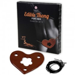 SECRETPLAY GUMMY THONG FOR HER CHOCOLATE FLAVOR
