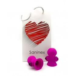 SANINEX SUCTIONER WORLD PINK NIPPLES STIMULATOR