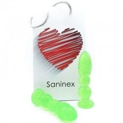 SANINEX DELIGHT PLUG-GODE TRANSPARENT VERT