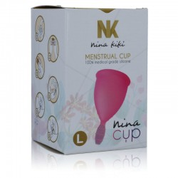 NINA CUP COUPE MENSTRUELLE TAILLE L ROSE