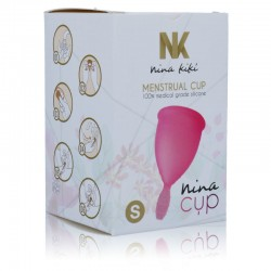 NINA CUP COUPE MENSTRUELLE TAILLE S ROSE