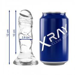 XRAY CLEAR COCK 12CM X 2,6CM
