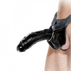 FETISH FANTASY EXTREME HOLLOW STRAP-ON NOIR