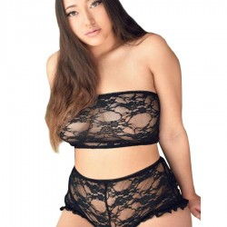 QUEEN LINGERIE SET TOP Y PANTIES
