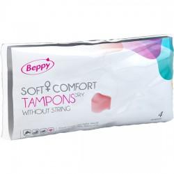 BEPPY TAMPONS SOFT-CONFORT SEC 4 UNITÉS