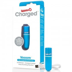SCREAMING O BULLET VIBRANT RECHARGEABLE VOOOM BLEU