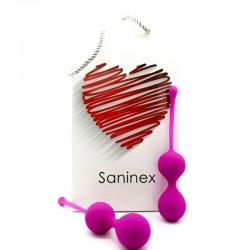 SANINEX BALLS DOUBLE INTELLIGENTE LILAS