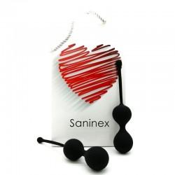 SANINEX BALLS DOUBLE CLEVER NOIR