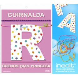 GUIRLANDE GOOD MORNING PRINCESS (Carton 220gr)