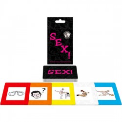 JEU DE CARTES INTERNATIONAL SEX! EN, ES, FR, DE, NE, IT, POR, RU, DAN, SVE