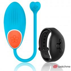 WEARWATCH EGG TECHNOLOGIE SANS FIL WATCHME BLUE / JET BLACK