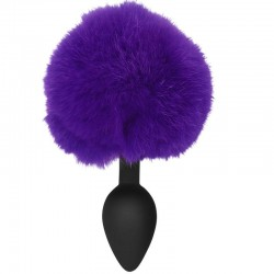 FICHES SPORTIVES MIDNIGHT SILICONE BUNNY BUTT PLUG VIOLET