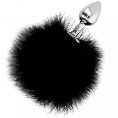 DARKNESS EXTRA FEEL BUNNY TAIL BUTTPLUG 7CM
