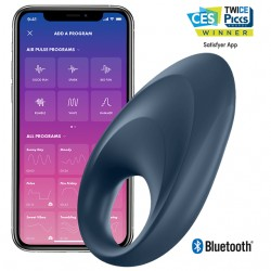 SATISFYER MIGHTY ONE COCK RING APP