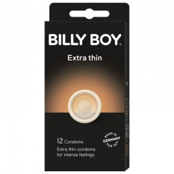 PRÉSERVATIFS BILLY BOY EXTRA FIN 12 UNITÉS