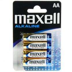 BLISTER MAXELL BATTERY AA LR6 * 4 EU