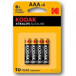 PILE ALCALINE KODAK XTRALIFE AAA LR03 * 4