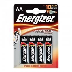 ENERGIZER ALCALINE POWER ALCALINE PILE AA LR6 BLISTER * 4