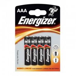 ENERGIZER ALCALINE POWER ALCALINE PILE AAA LR03 BLISTER * 4
