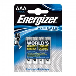 ENERGIZER ULTIMATE LITHIUM LITHIUM BATTERY AAA L92 LR03 1,5V BLISTER * 4