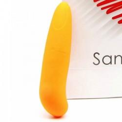 SANINEX MINI VIBRATEUR MULTI EXCITANT FEMME ORANGE