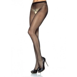 LEG AVENUE SHEER SUSPENDER PANTYHOUSE