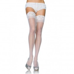 LEG AVENUE PLUS SIZE SHEER STAY UP'S